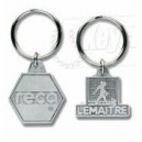 Zinc Alloy Metal Promotional Keyrings Keychains